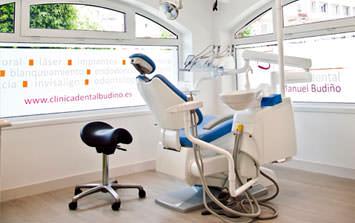instalaciones de la clinica dental budiño